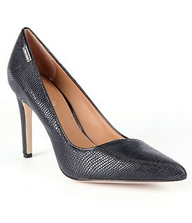 Calvin Klein Calida Pointed-Toe Pumps Image