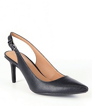 Calvin Klein Giovanna Slingback Pointed-Toe Pumps