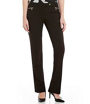 Calvin Klein Luxe Stretch Zip Pocket Pants