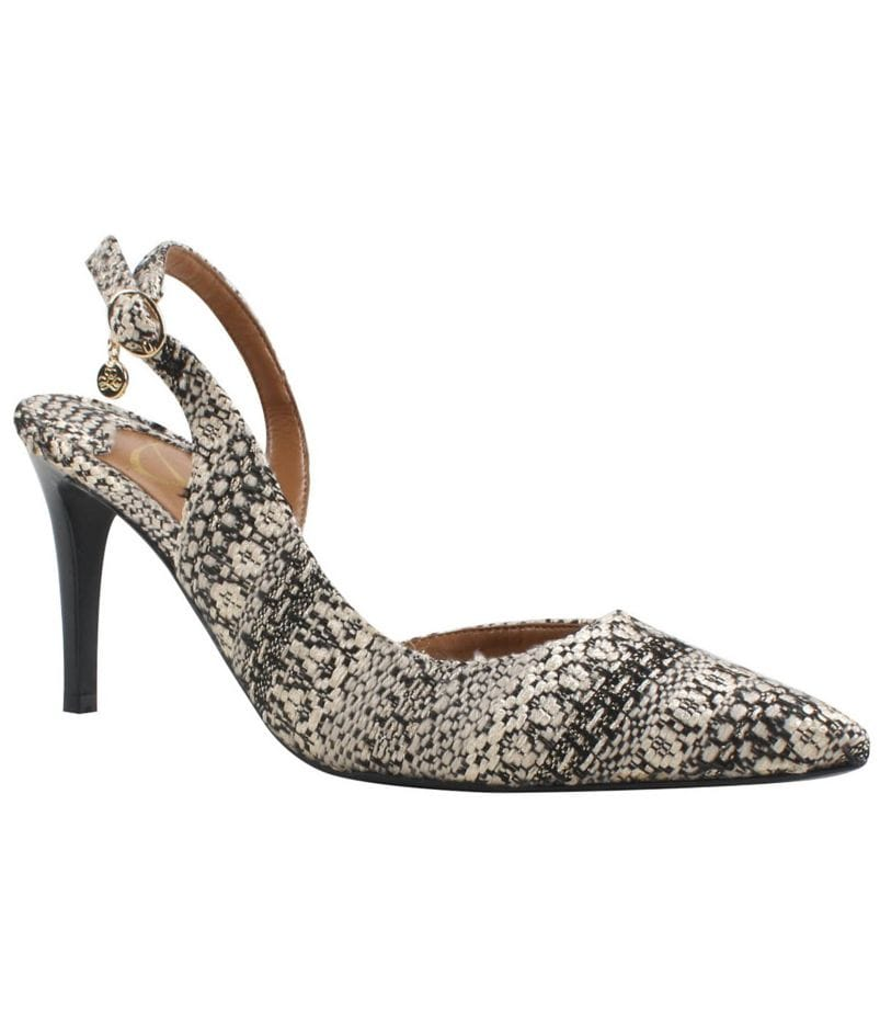 J. Renee Lacee Pointed-Toe Slingback d´Orsay Pumps