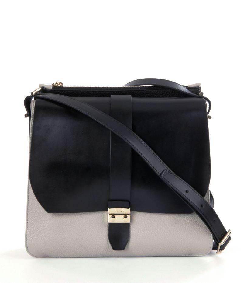 Furla Flair Small Colorblocked Messenger Bag