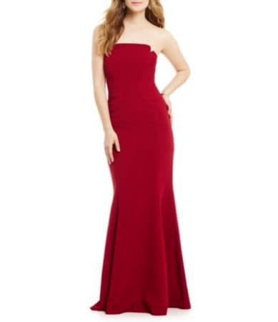 Dillards long red dresses