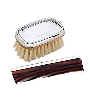 Reed & Barton Kent Boy´s Brush & Comb Set