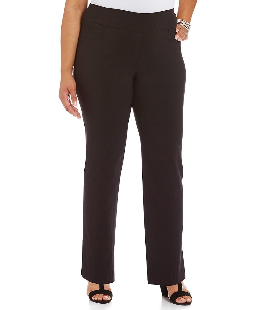 Ruby Rd. Plus Pull-On Tech Solid Pant