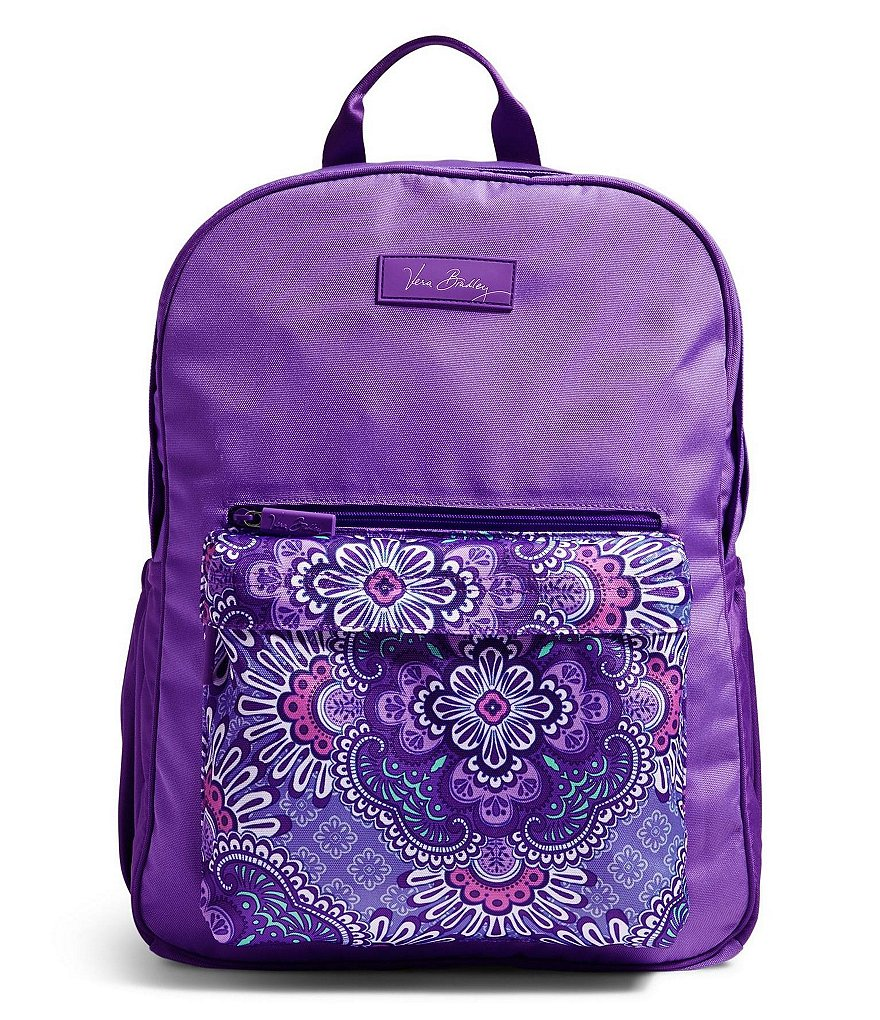 Vera Bradley Large Color Block Backpack