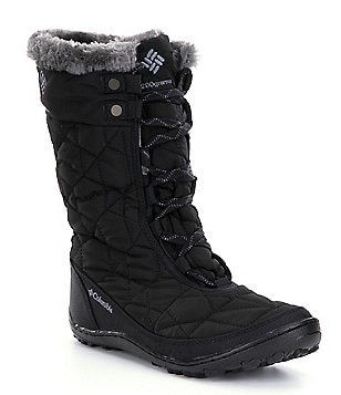 Columbia Minx Mid II Omni-Heat Faux Fur Waterproof Cold Weather Boots