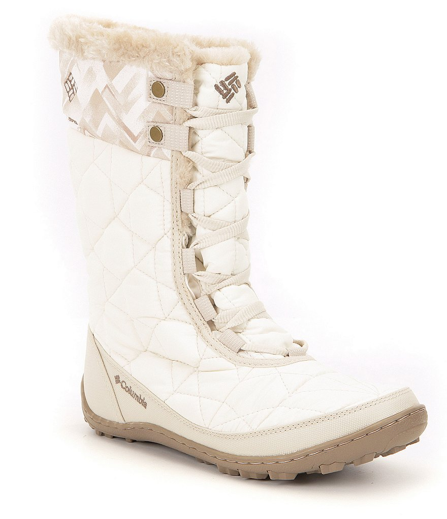 Columbia Minx Faux Fur Mid II Waterproof Omni-Heat Print Cold Weather Boots