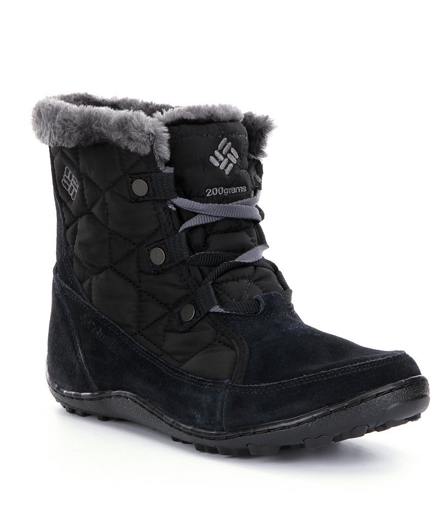 Columbia Minx Shorty Omni-Heat Faux Fur Waterproof Cold Weather Mid-Calf Boots