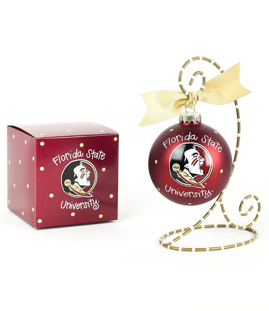 Coton Colors Florida State University Logo Ornament