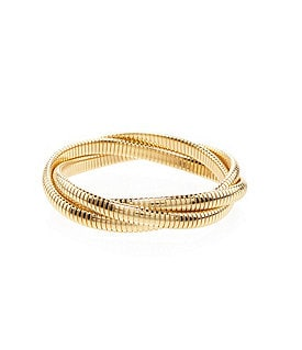 Dillard�s Tailored Omega Interlock Bracelet Image