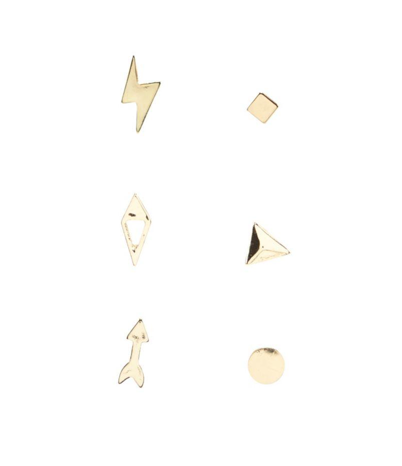 Anna & Ava Sign Stud Earrings Set