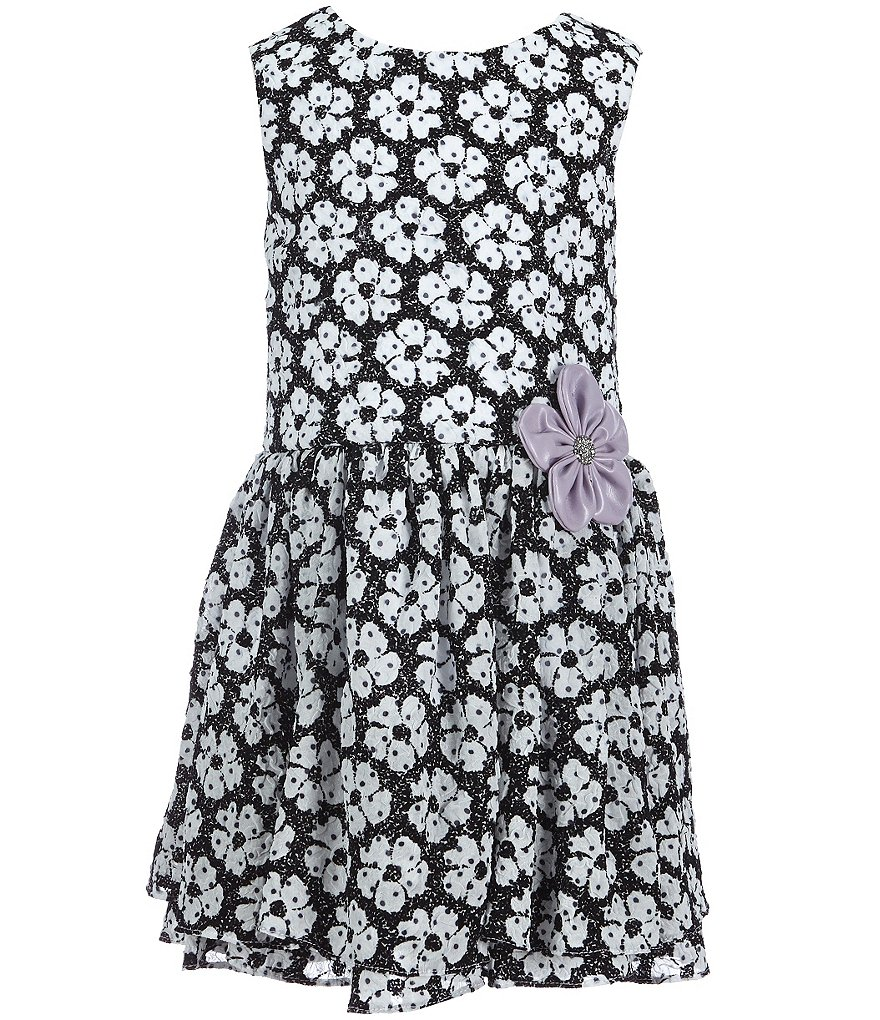 Pippa & Julie Little Girls 2T-6X Daisy Print Dress