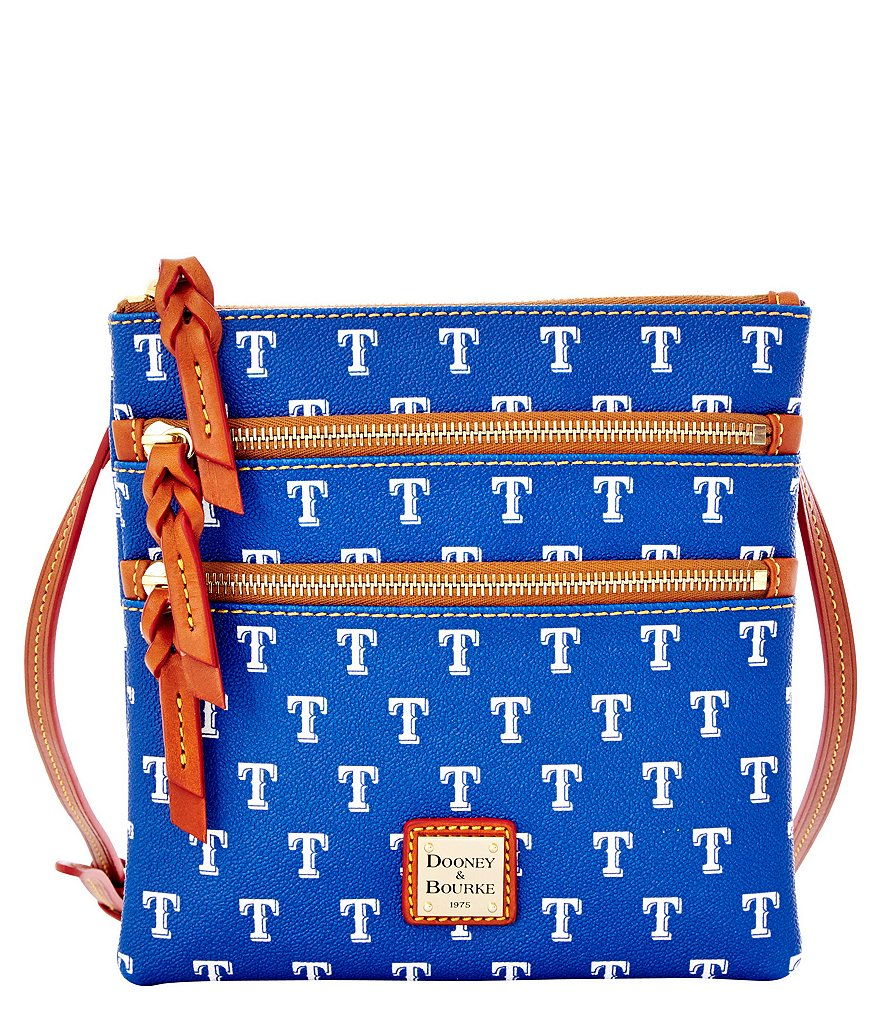 Dooney & Bourke Texas Rangers Triple-Zip Cross-Body Bag