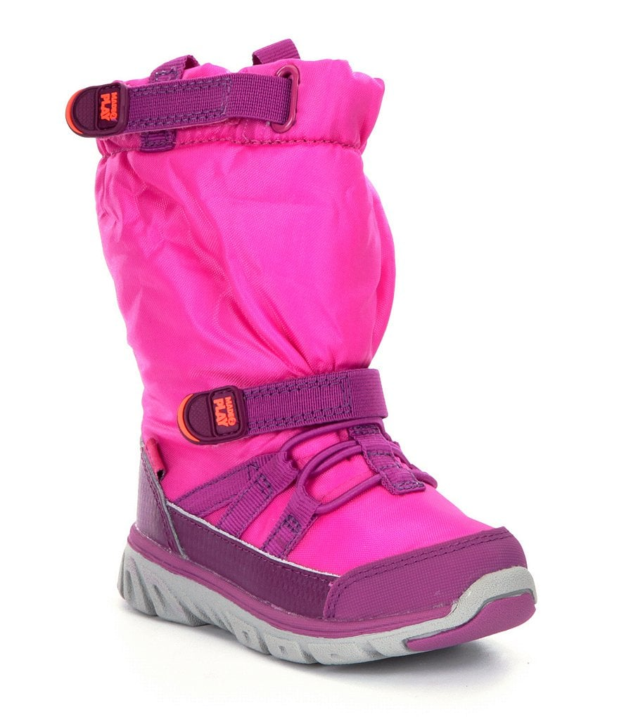 Stride Rite M2P Snoot Girls´ Cold Weather Sneaker Boots