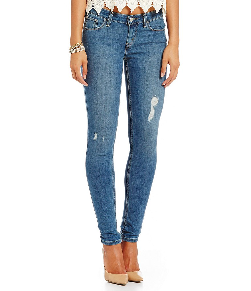 Levi´s® 535™ Distressed Super Skinny Jeans