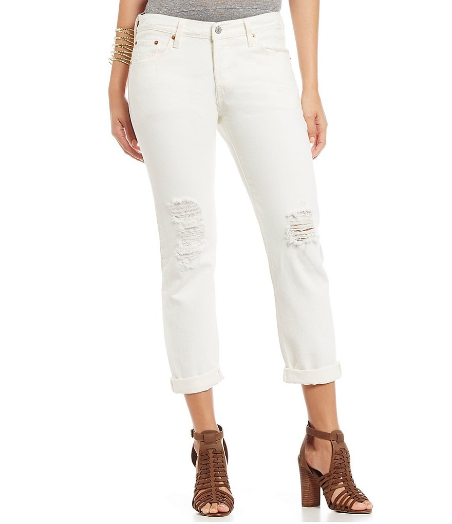 Levi´s® 501® CT Distressed Boyfriend Jeans