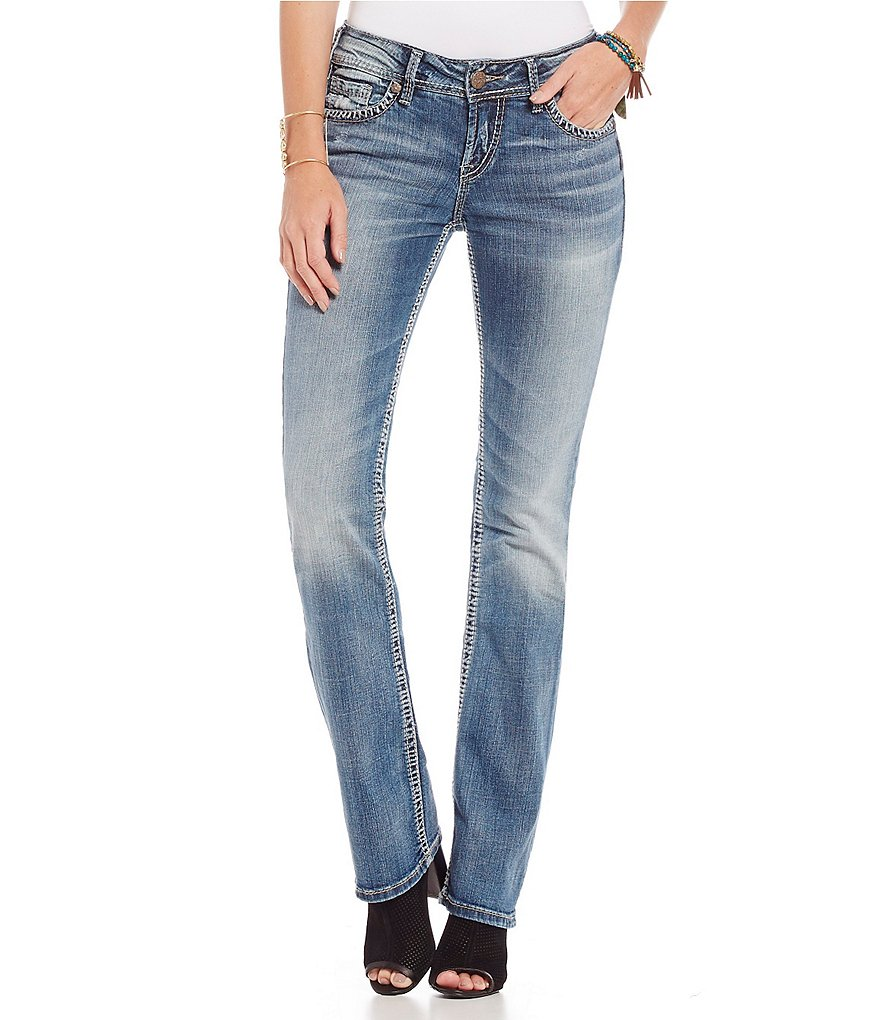 Silver Jeans Co. Suki Mid-Rise SlimBootcut Jeans