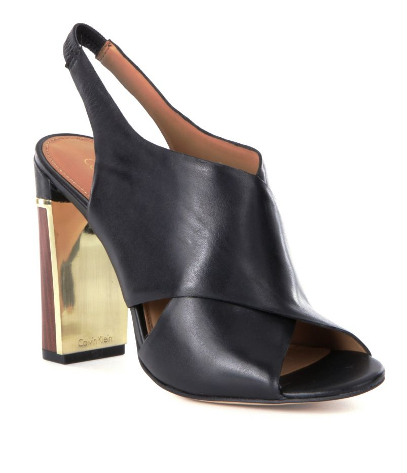 Calvin Klein Karel Slingback Dress Sandals