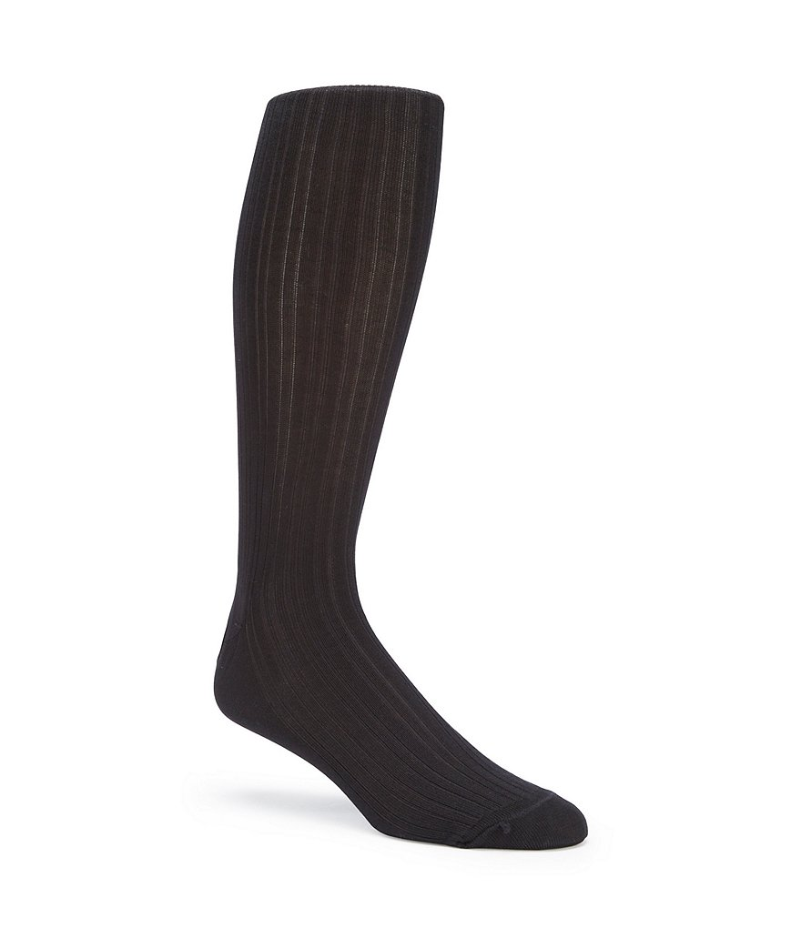 Gold Label Roundtree & Yorke Solid Over-the-Calf Dress Socks 3-Pack