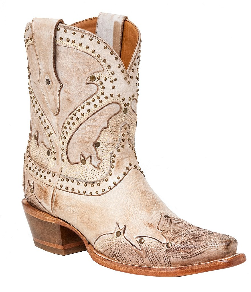 Lucchese Since 1883 Sarabeth Western Mid-Calf Boots