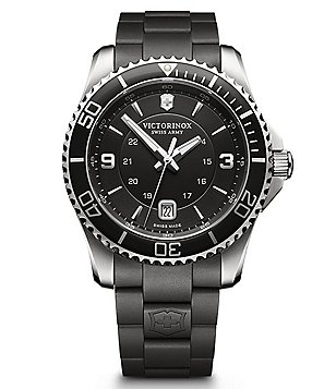 Victorinox Swiss Army Maverick Luminescent Analog Military Time Watch