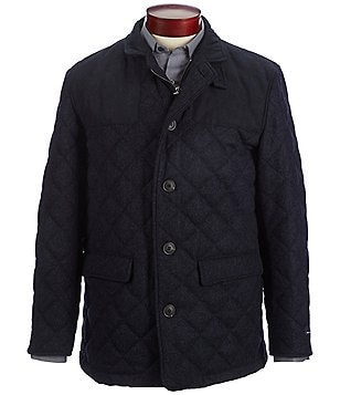 Hart Schaffner Marx Keystone Quilted Riding Jacket