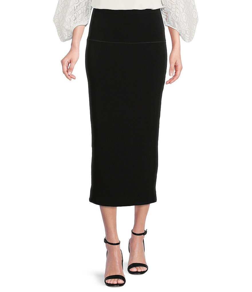 Eva Varro Long Straight Skirt | Dillards
