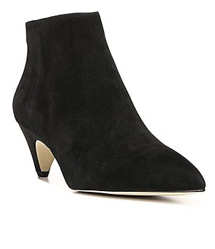 Sam Edelman Lucy Suede Pointed-Toe Booties