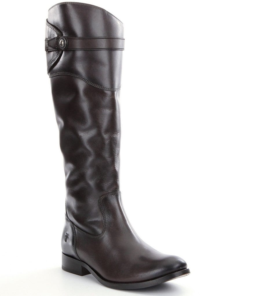 Frye Molly Button Riding Boots