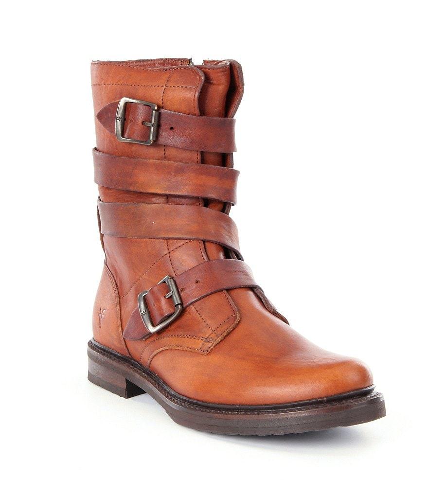 frye tanker boots dillards
