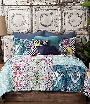 Poetic Wanderlust™ by Tracy Porter Florabella Pieced Voile Quilt