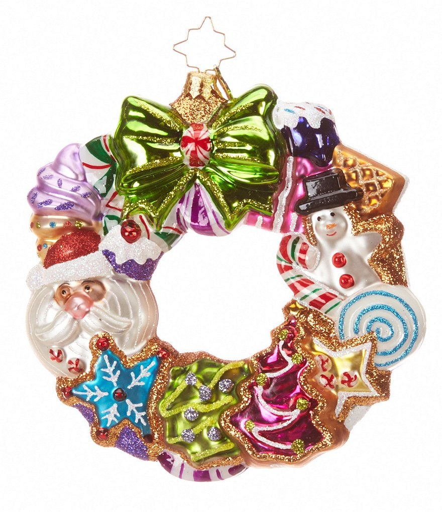 Christopher Radko Treats Wreath Ornament