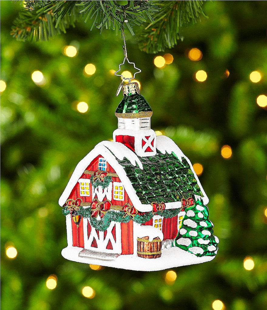 Christopher Radko Country Christmas Ornament