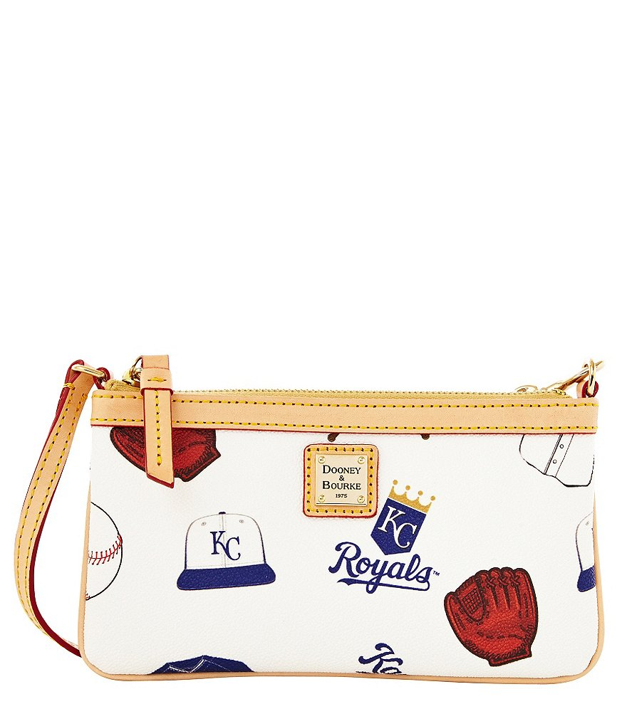 Dooney & Bourke Kansas City Royals Large Slim Wristlet