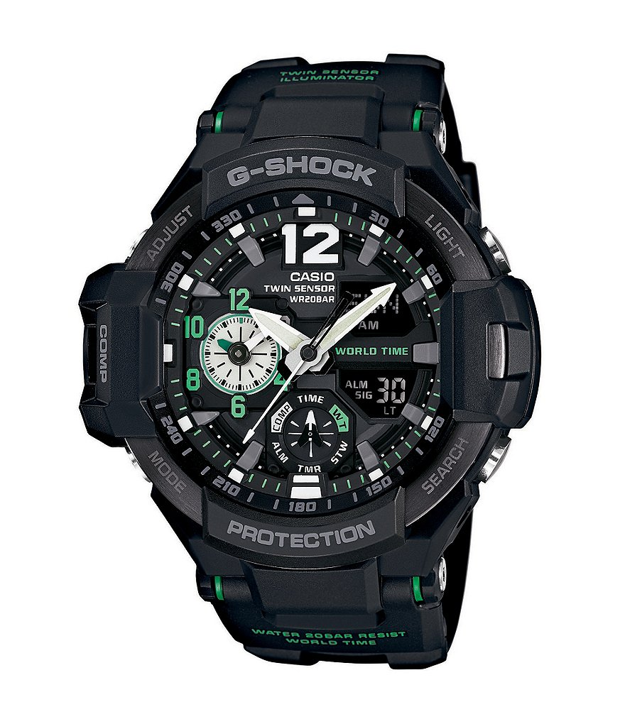 G-Shock Black Gravitymaster Ana-Digi Watch