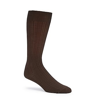 Gold Label Roundtree & Yorke Big & Tall Solid Crew Dress Socks 3-Pack