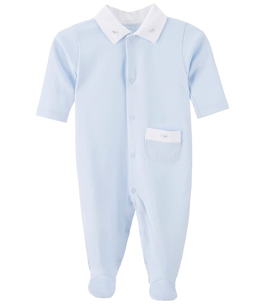 Edgehill Collection Baby Boys Newborn-6 Months Airplane Coverall