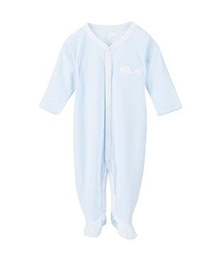 Edgehill Collection Baby Boys Newborn-6 Months Elephant Coverall