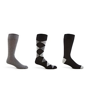 Cole Haan Diamond Crew Dress Socks