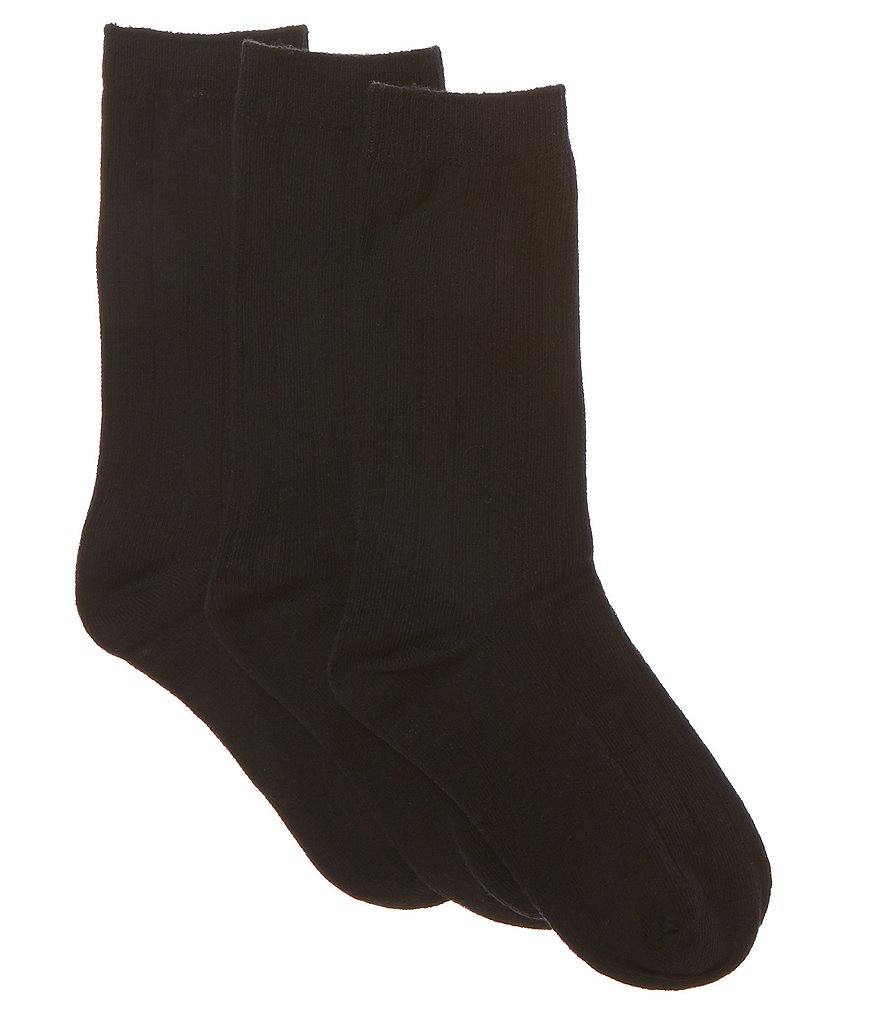Class Club 3-pack Solid Dress Socks