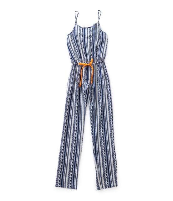 GB Girls 7-16 Tribal Stripe Jumpsuit