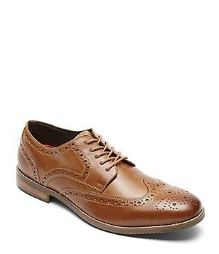 Rockport Style Purpose Wingtip Dress Shoes
