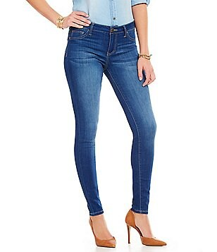Celebrity Pink Mid-Rise Skinny Jeans