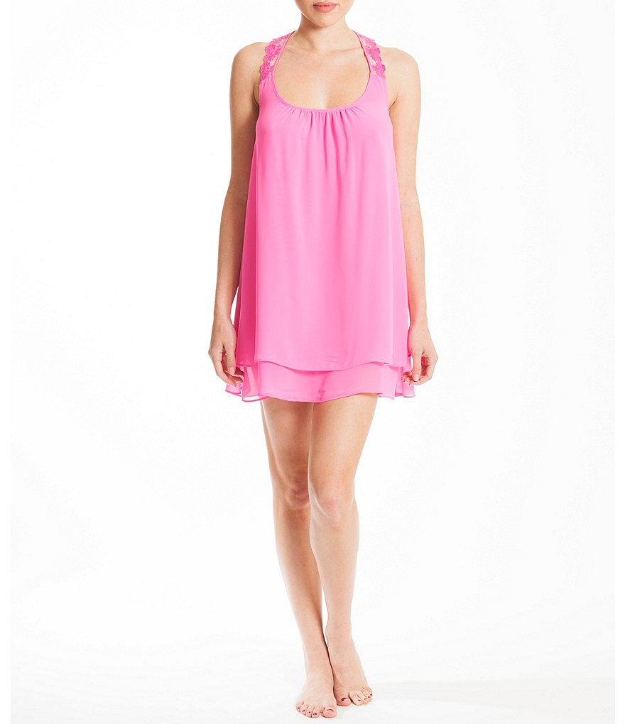 In Bloom by Jonquil Liza Chiffon Chemise