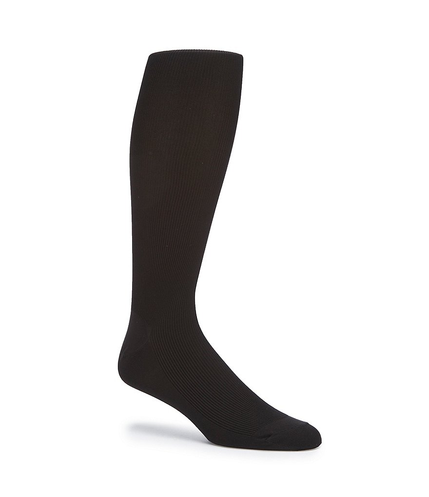 Gold Label Roundtree & Yorke Over-the-Calf Ribbed Socks 3-Pack