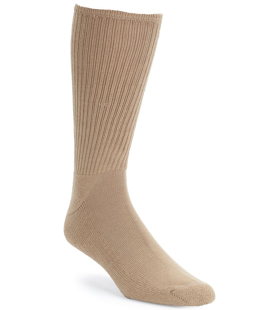 Gold Label Roundtree & Yorke Cushioned Crew Socks 3-Pack