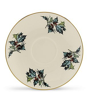 Lenox Winter Greetings Saucer