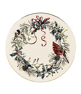 Lenox Winter Greetings Dinner Plate, Set of 6 Image