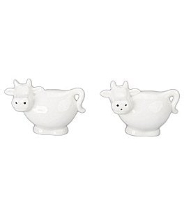 BIA Cordon Bleu Porcelain Cow Salt and Pepper Shakers Image