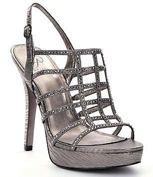 Adrianna Papell Maya Jeweled Dress Sandals